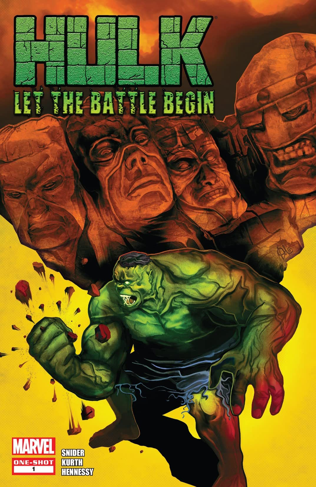 Hulk: Let the Battle Begin Vol 1 1