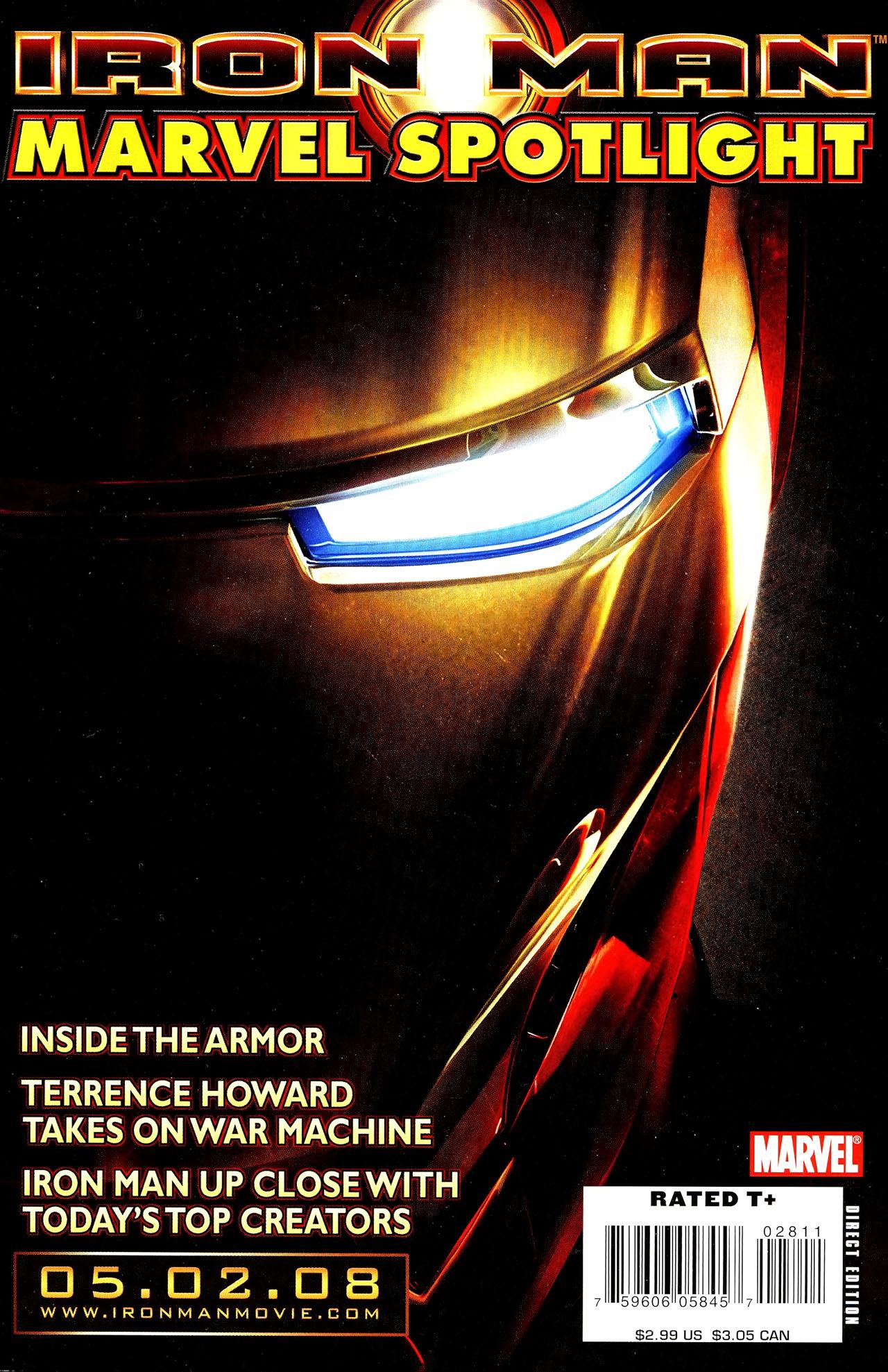 Marvel Spotlight: Iron Man Vol 1 1