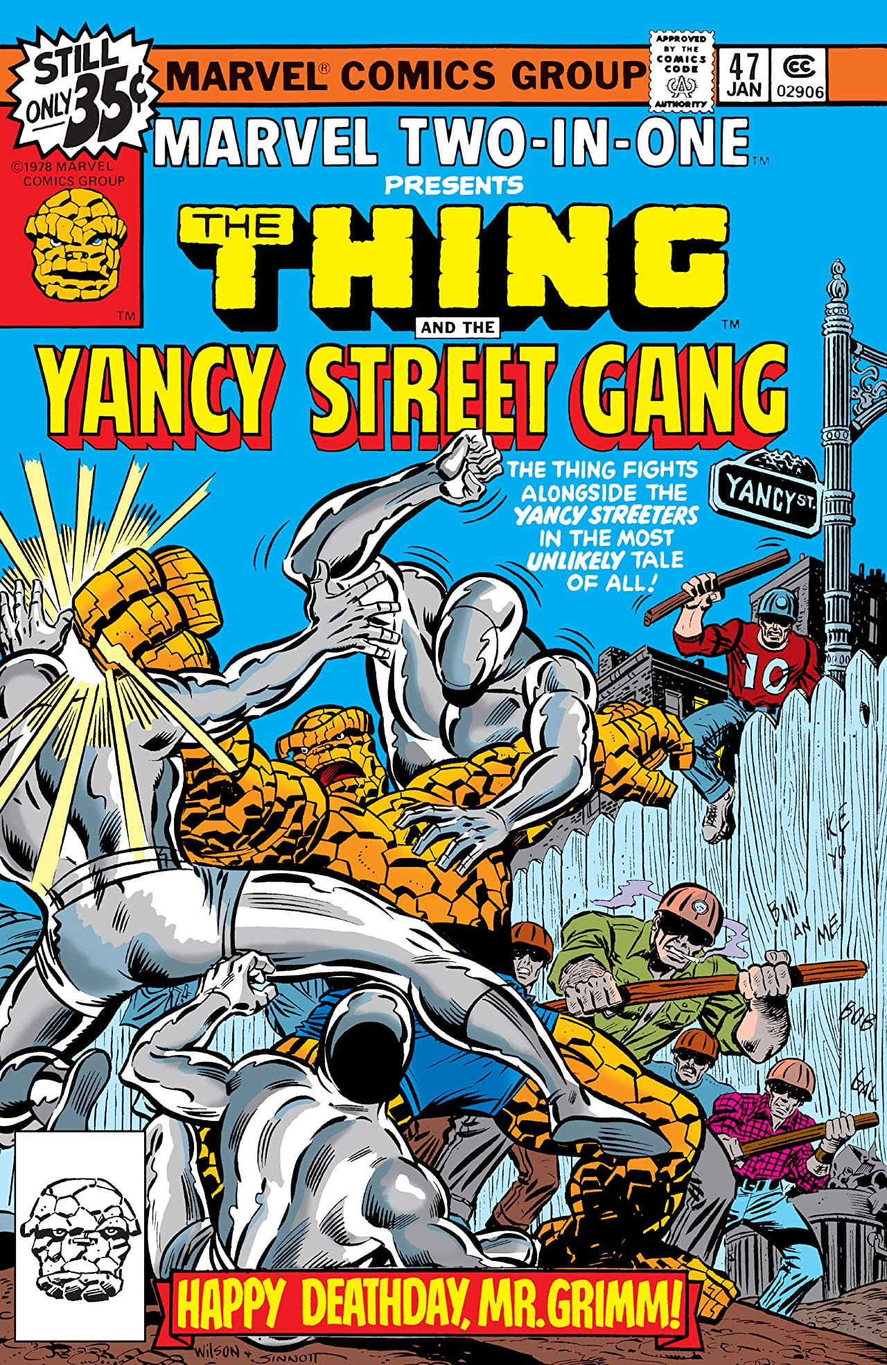 Marvel Two-In-One Vol 1 47