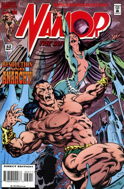 Namor the Sub-Mariner Vol 1 62