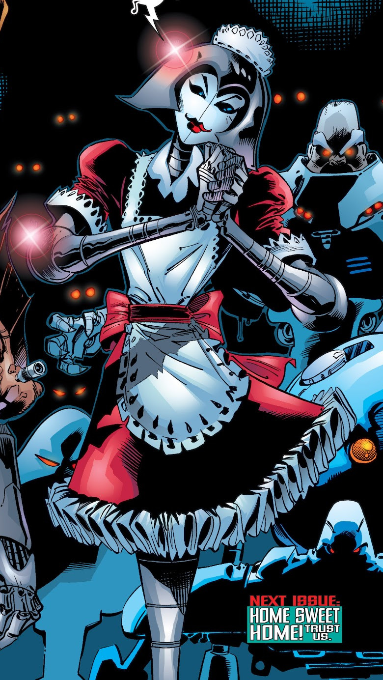 Nanny (Magneto's Robot) (Earth-616)
