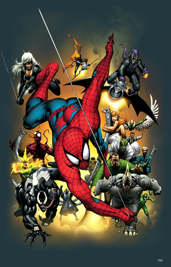 Official Handbook of the Marvel Universe Spider-Man 2004 Vol 1 1 Textless.jpg