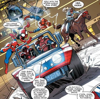 Web Warriors (Earth-13) from Amazing Spider-Man Vol 3 12 001.png