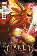 Angela Asgard's Assassin Vol 1 1 Jimenez Variant