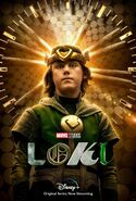 Loki (TV series) poster 012
