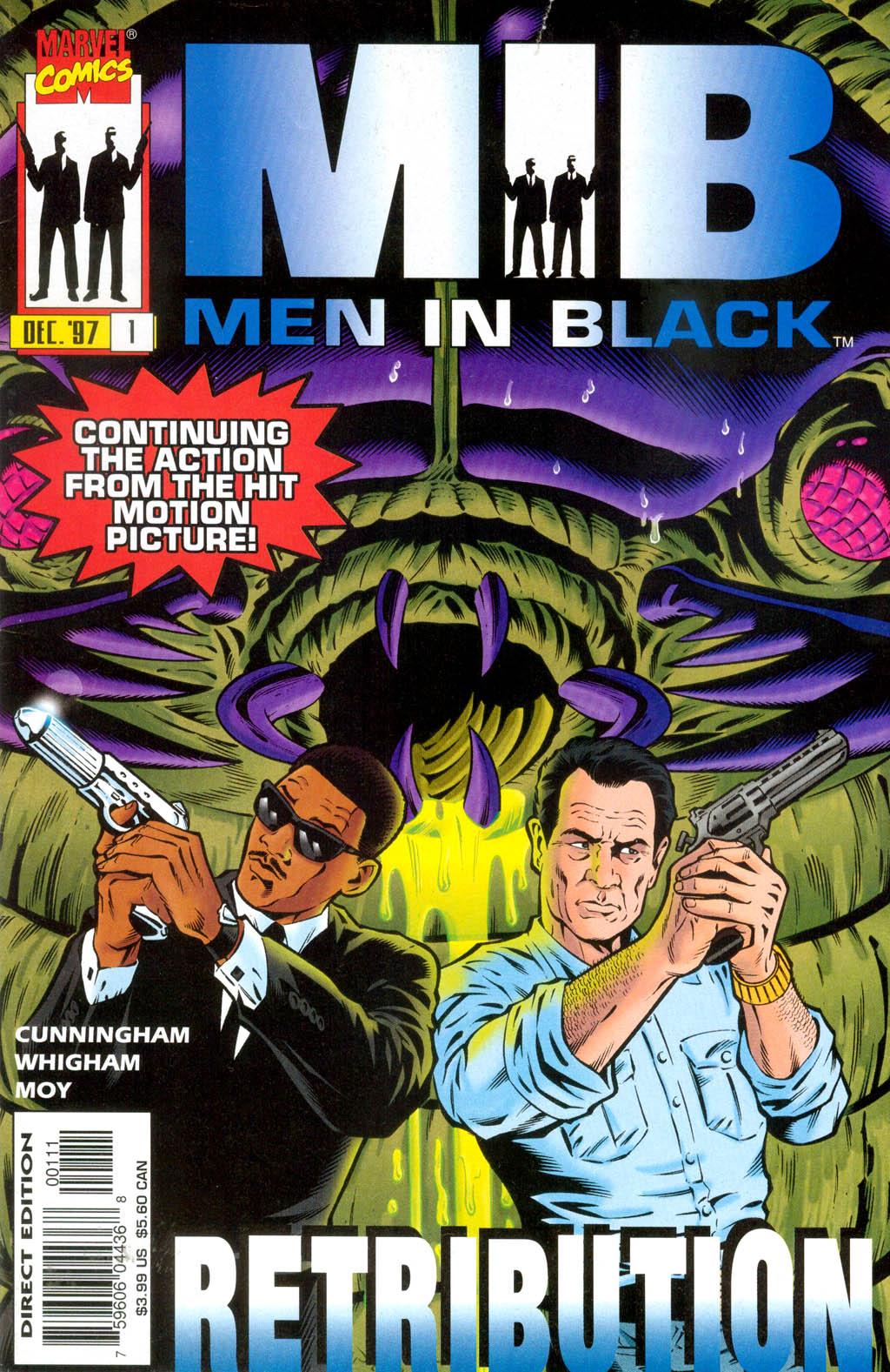 Men in Black: Retribution Vol 1 1