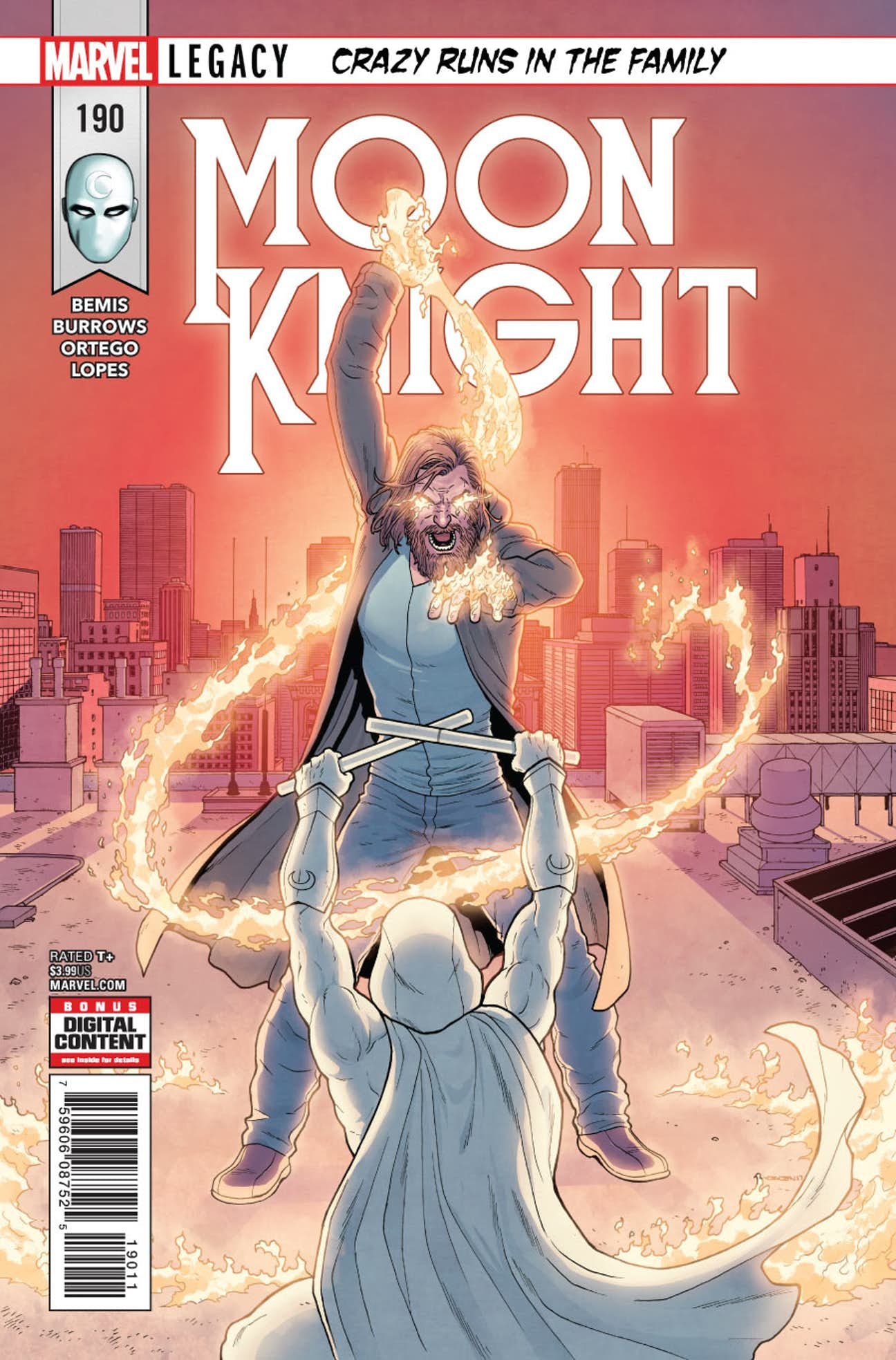 Moon Knight Vol 1 190