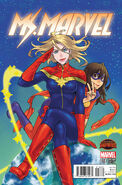 Ms. Marvel Vol 3 18 Manga Variant