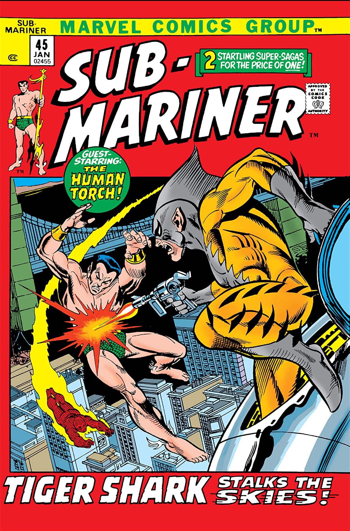 Sub-Mariner Vol 1 45