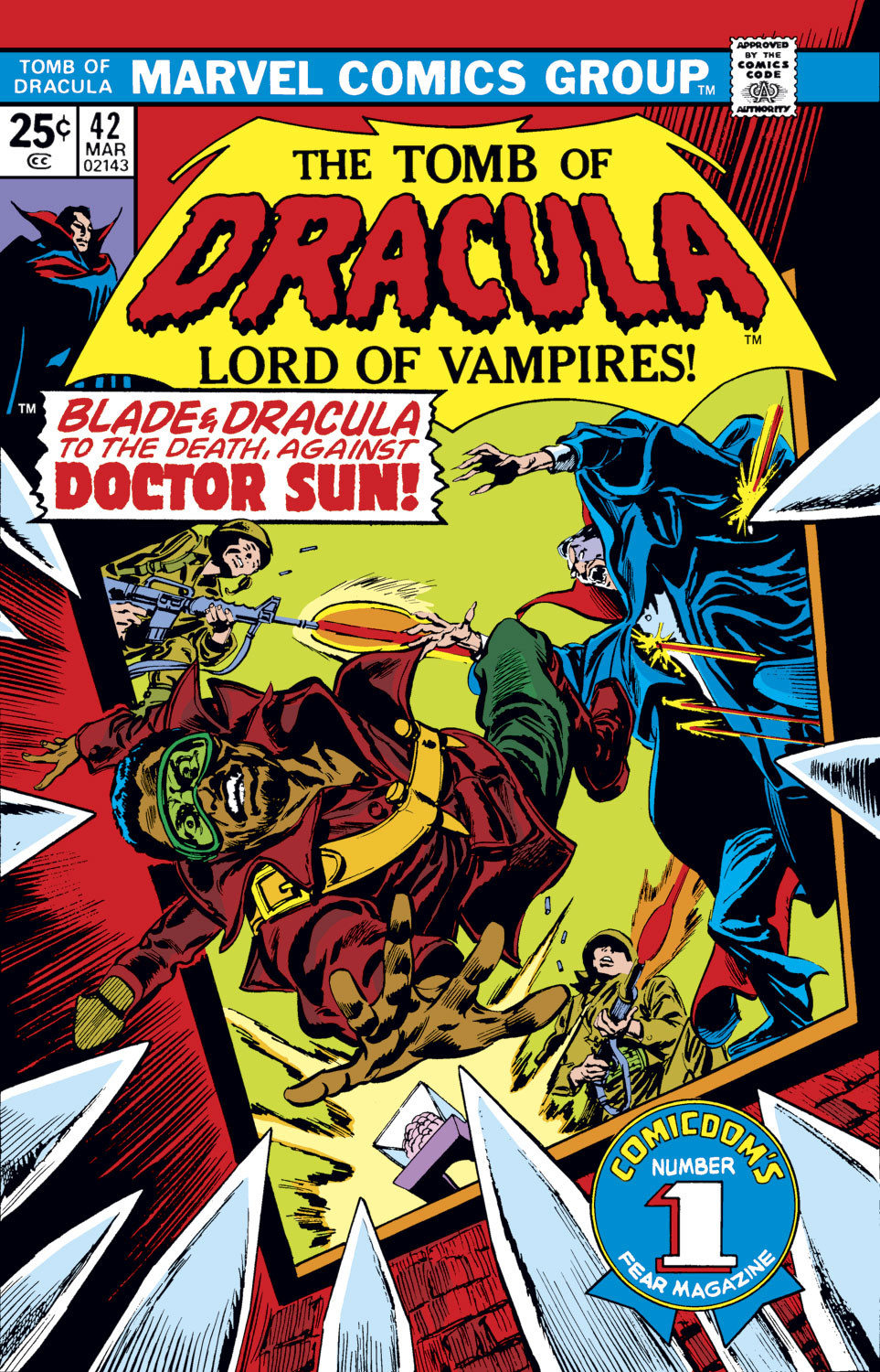 Tomb of Dracula Vol 1 42