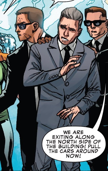 United States Secret Service (Earth-616)/Gallery