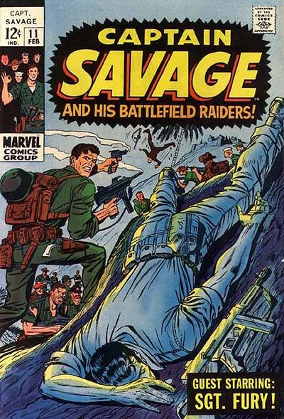 Capt. Savage and his Leatherneck Raiders Vol 1 11