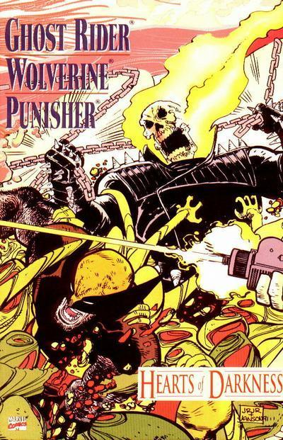 Ghost Rider/Wolverine/Punisher: Hearts of Darkness Vol 1