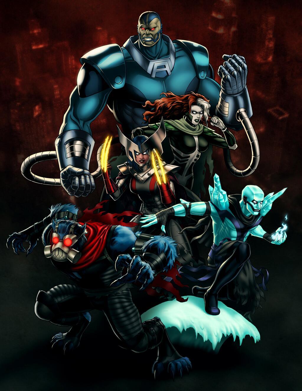 Horsemen of Apocalypse (Earth-12131)