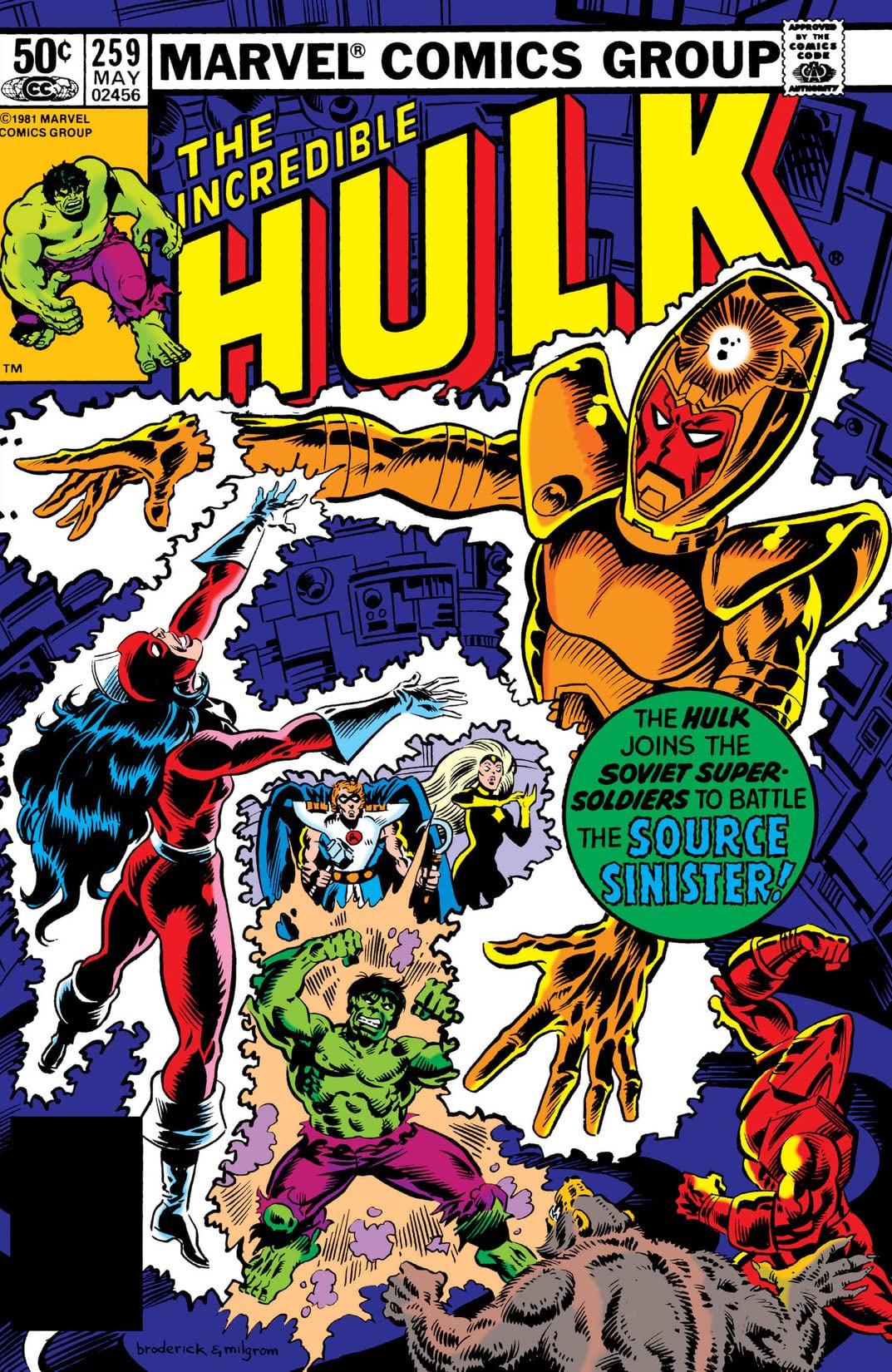 Incredible Hulk Vol 1 259