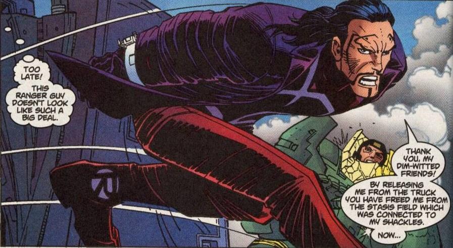 Ranger (Terrorist) (Earth-616)