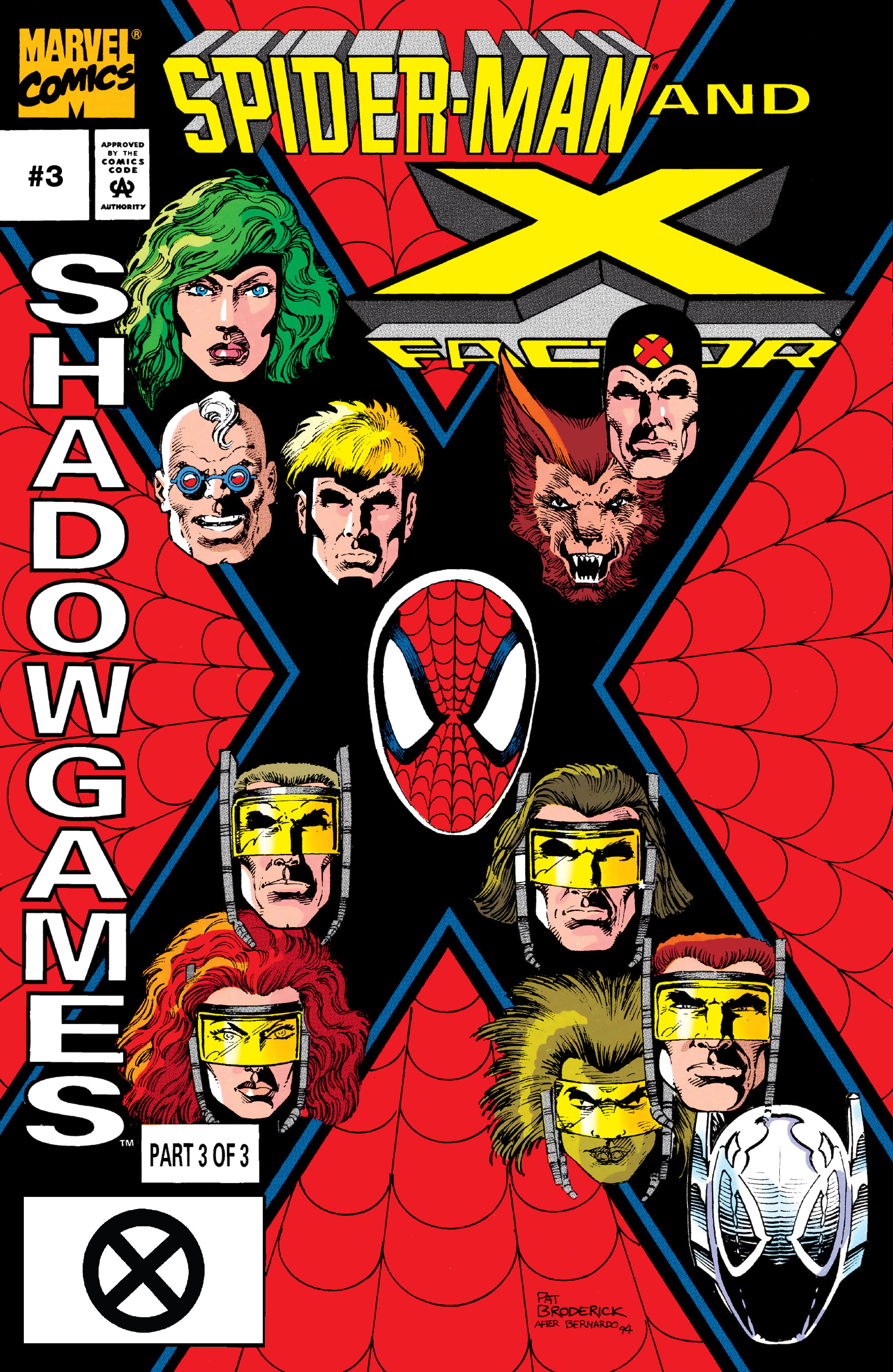 Spider-Man and X-Factor: Shadowgames Vol 1 3