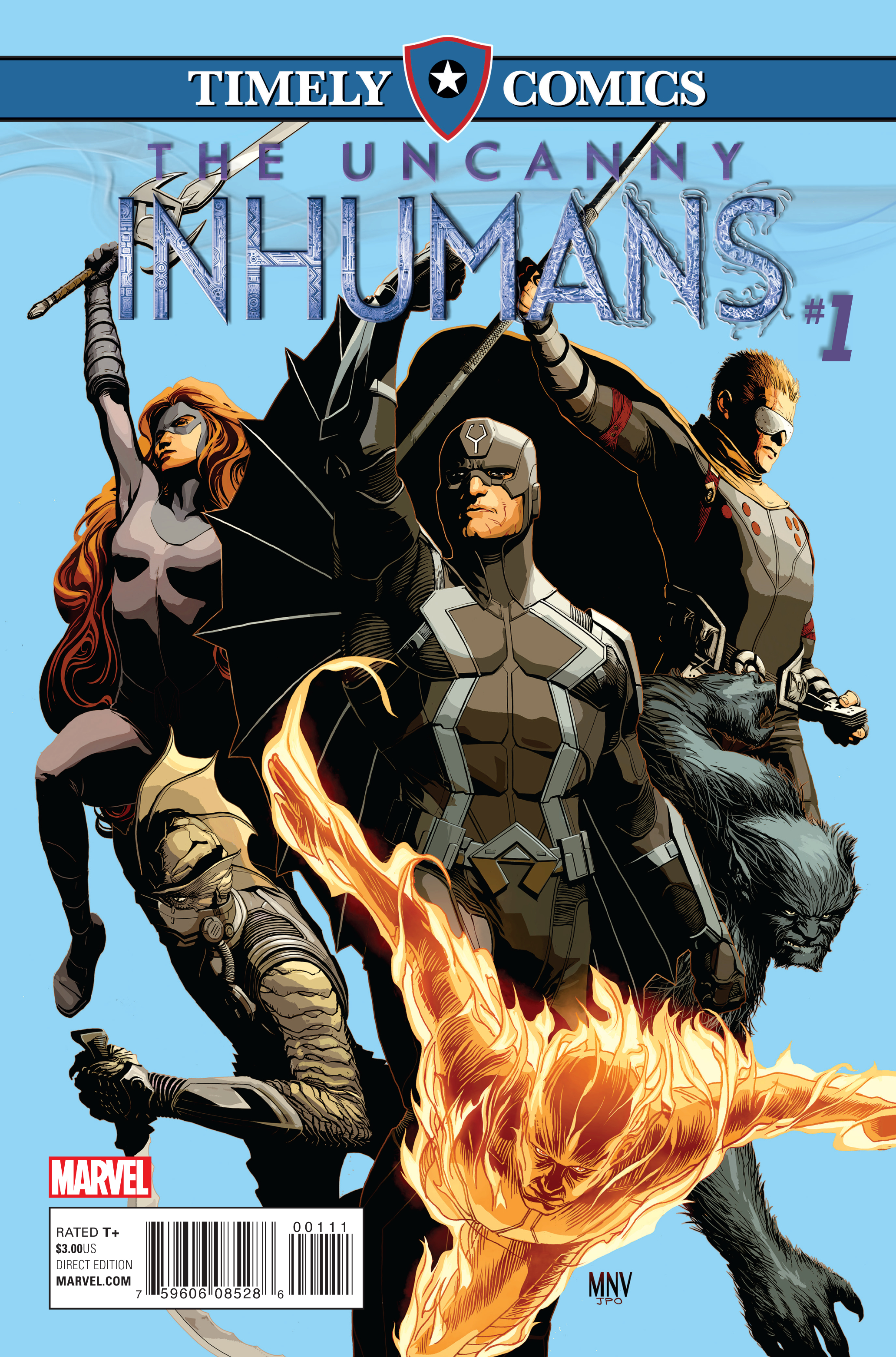 Timely Comics: Uncanny Inhumans Vol 1 1