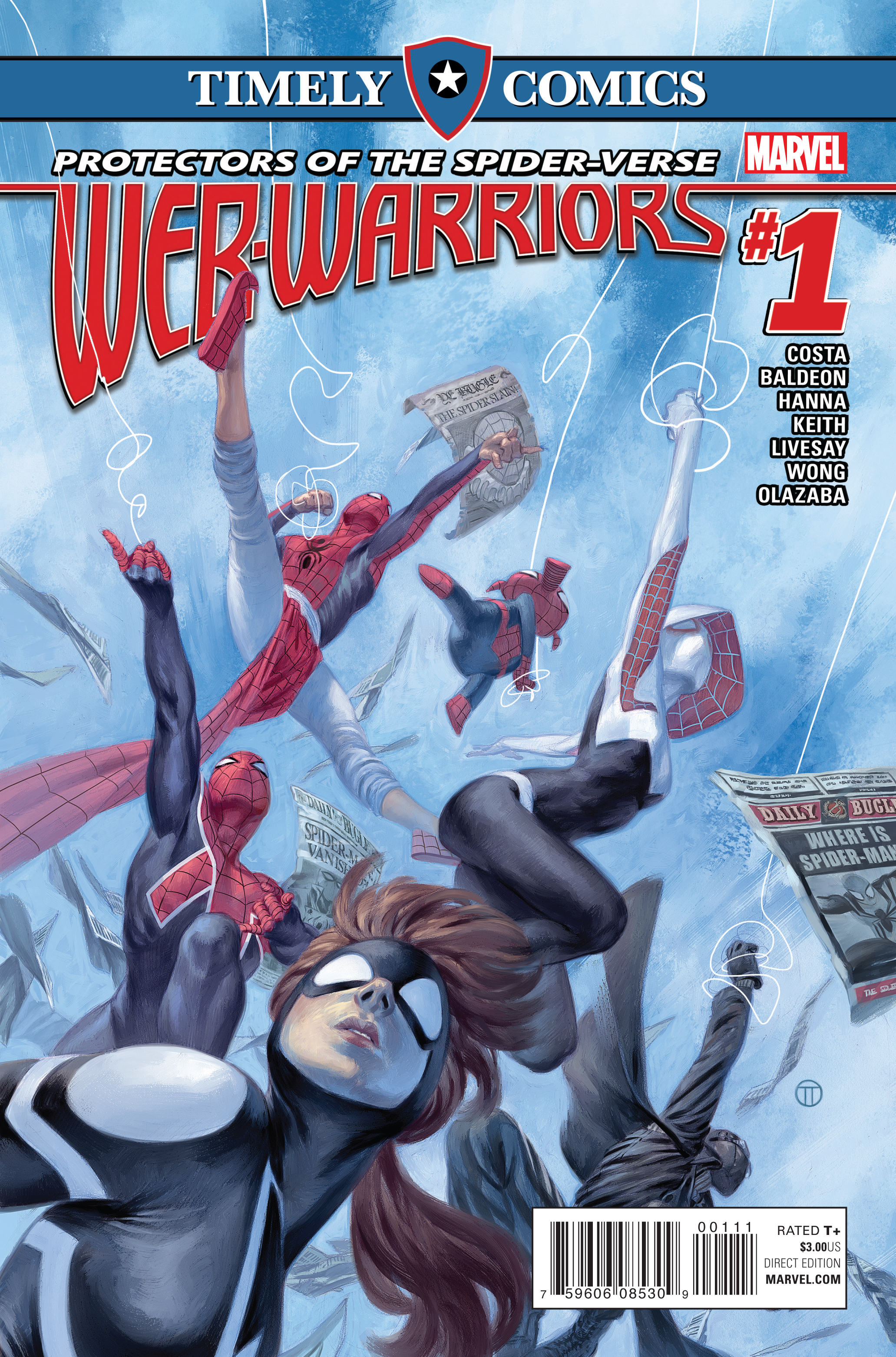 Timely Comics: Web Warriors Vol 1 1