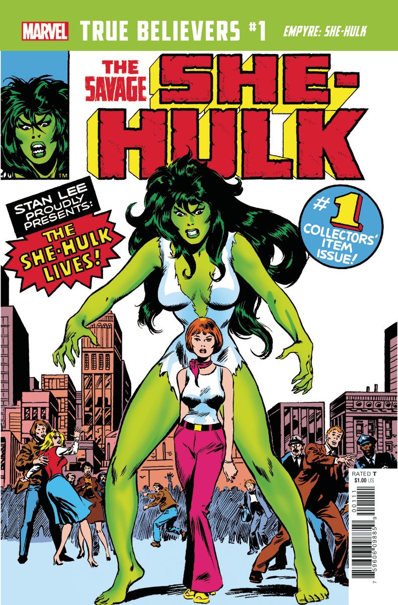 True Believers: Empyre - She-Hulk Vol 1 1