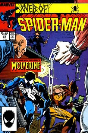 Web of Spider-Man # 29, August, 1987