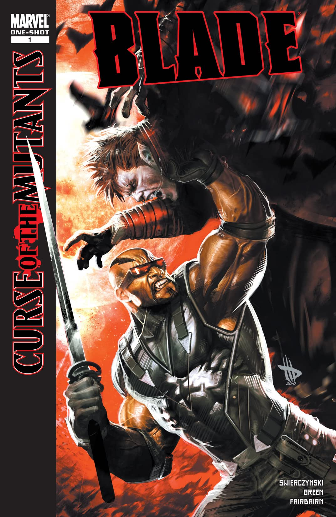X-Men: Curse of the Mutants - Blade Vol 1 1