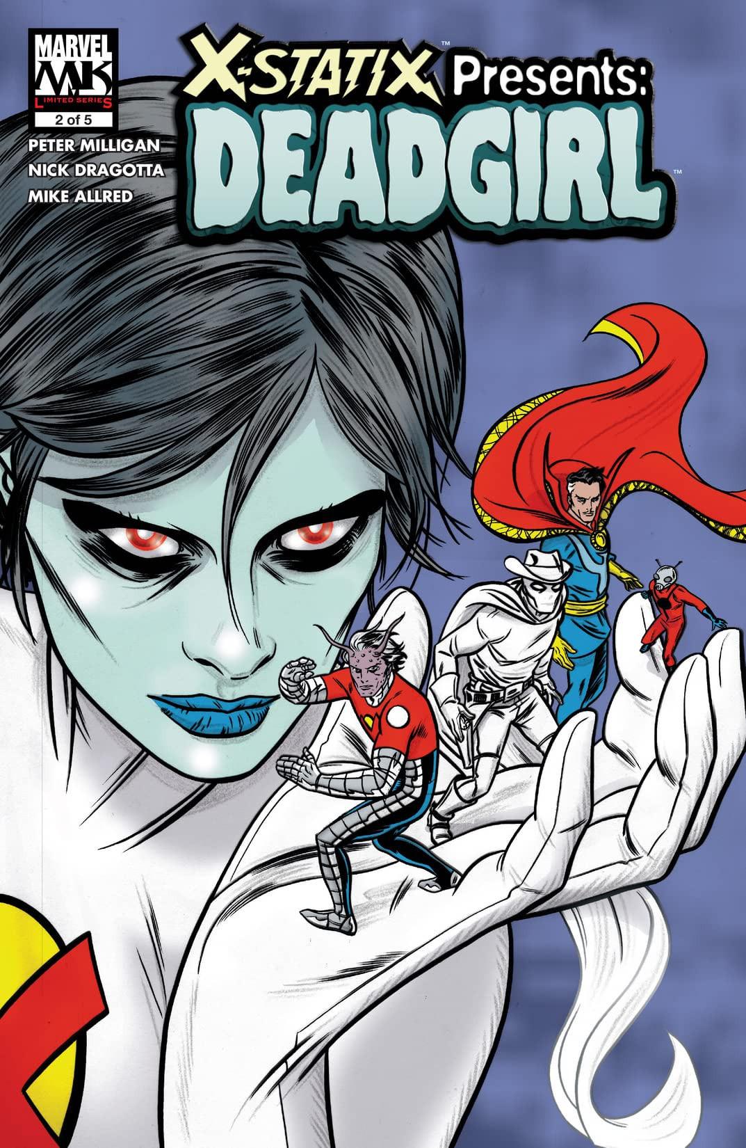 X-Statix Presents: Dead Girl Vol 1 2