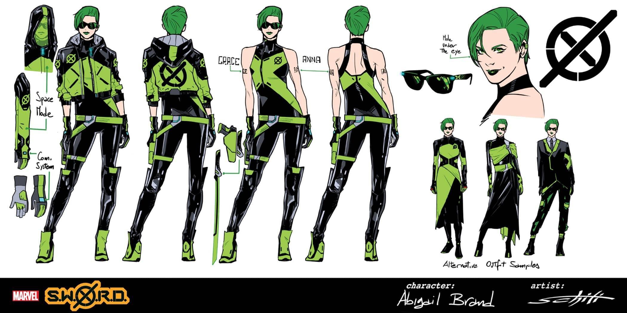 Abigail Brand (Earth-616)/Gallery