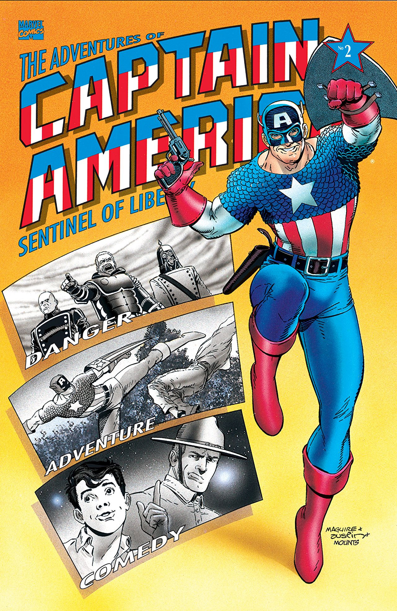 Adventures of Captain America Vol 1 2