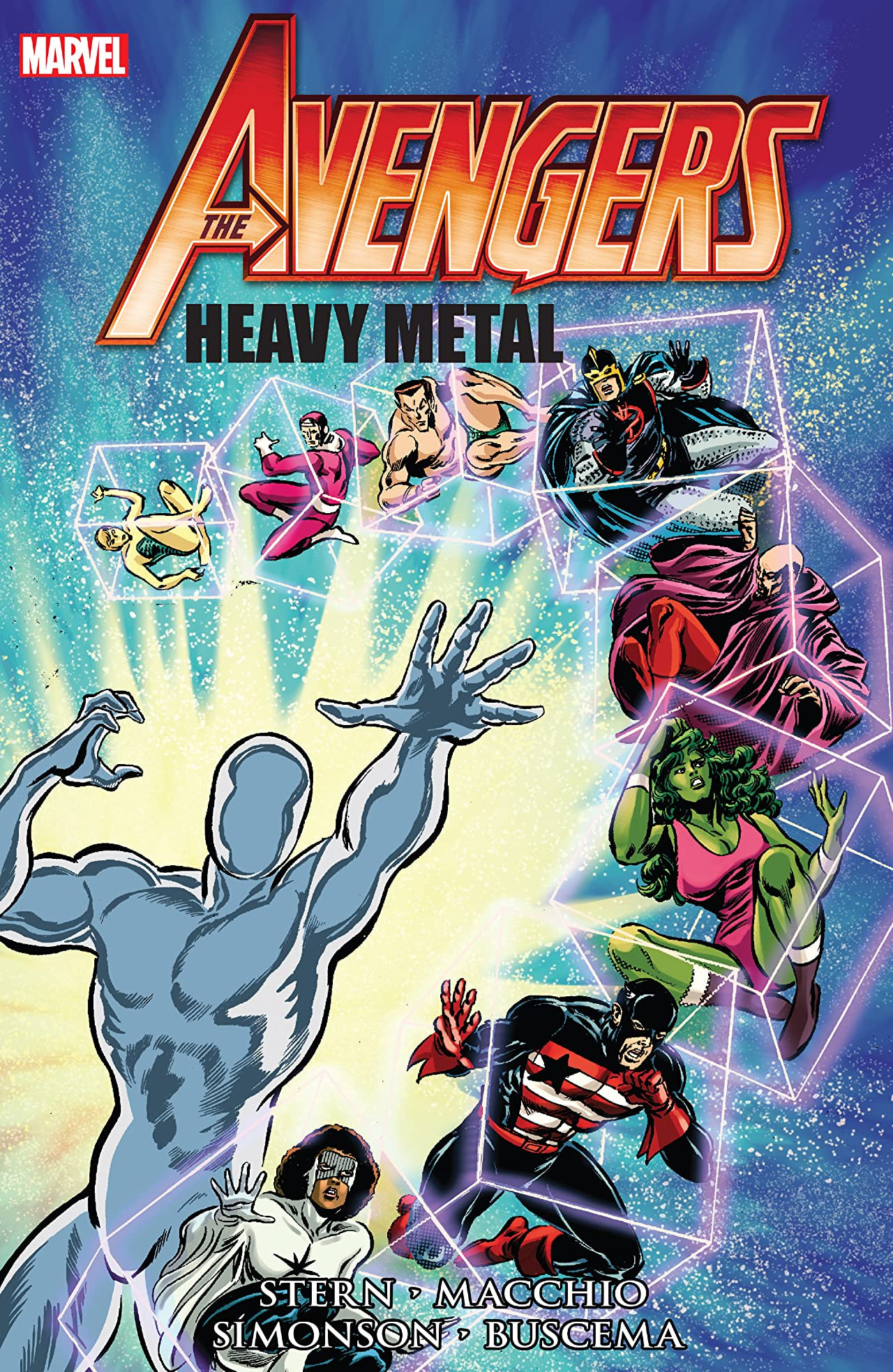 Avengers: Heavy Metal TPB Vol 1
