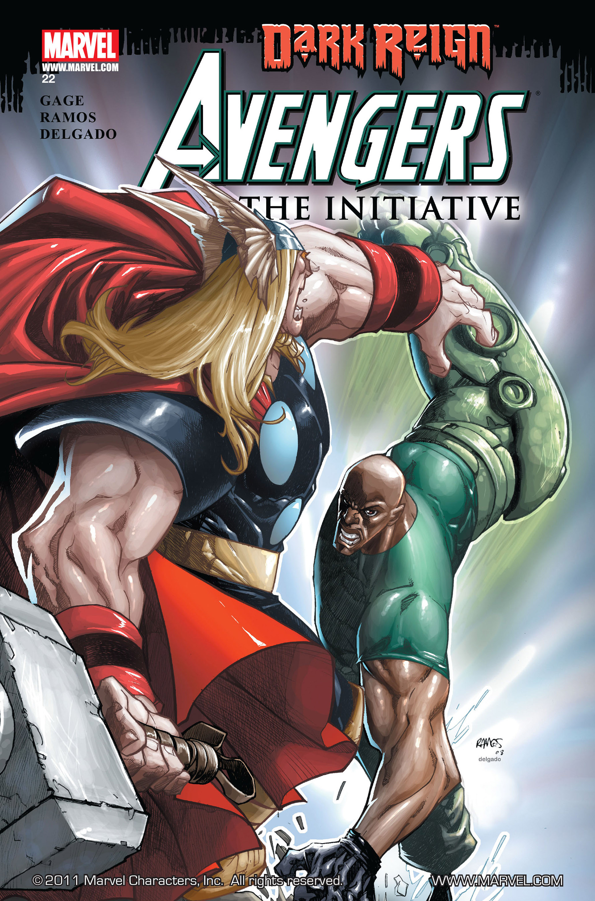Avengers: The Initiative Vol 1 22