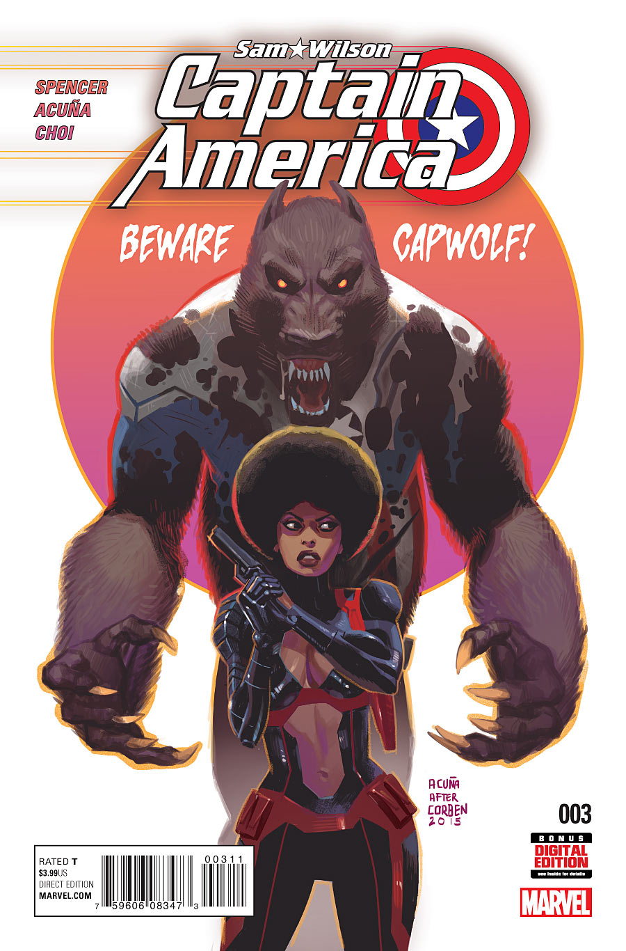 Captain America: Sam Wilson Vol 1 3