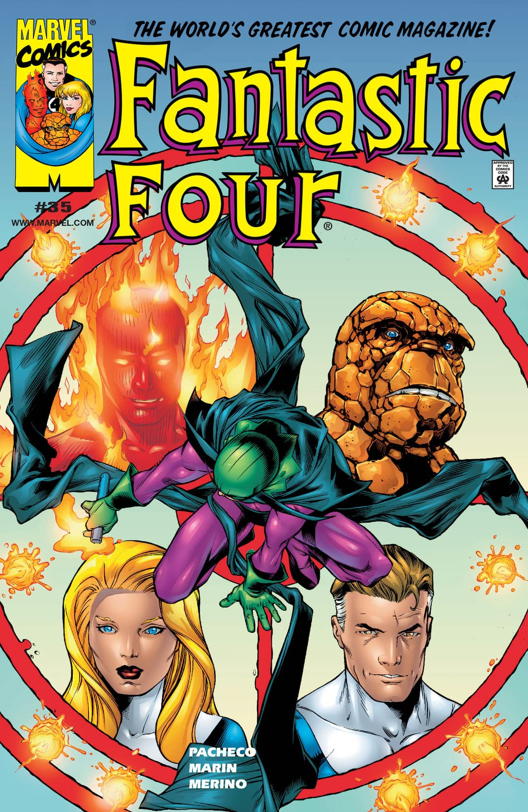 Fantastic Four Vol 3 35
