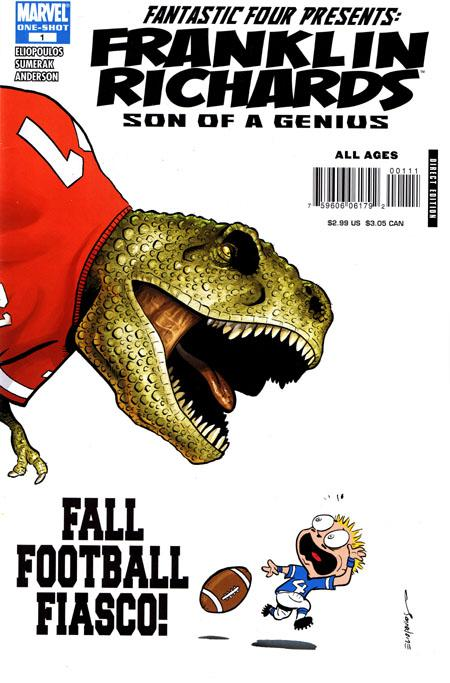Franklin Richards: Fall Football Fiasco Vol 1 1