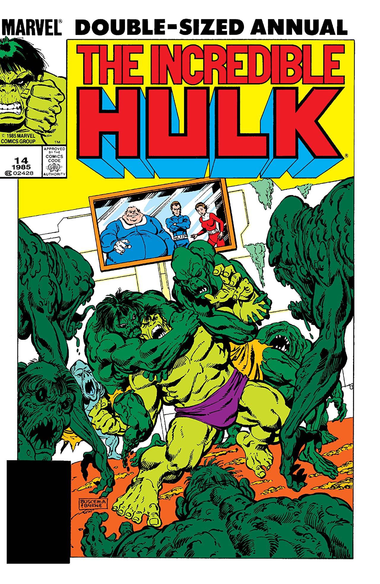 Incredible Hulk Annual Vol 1 14