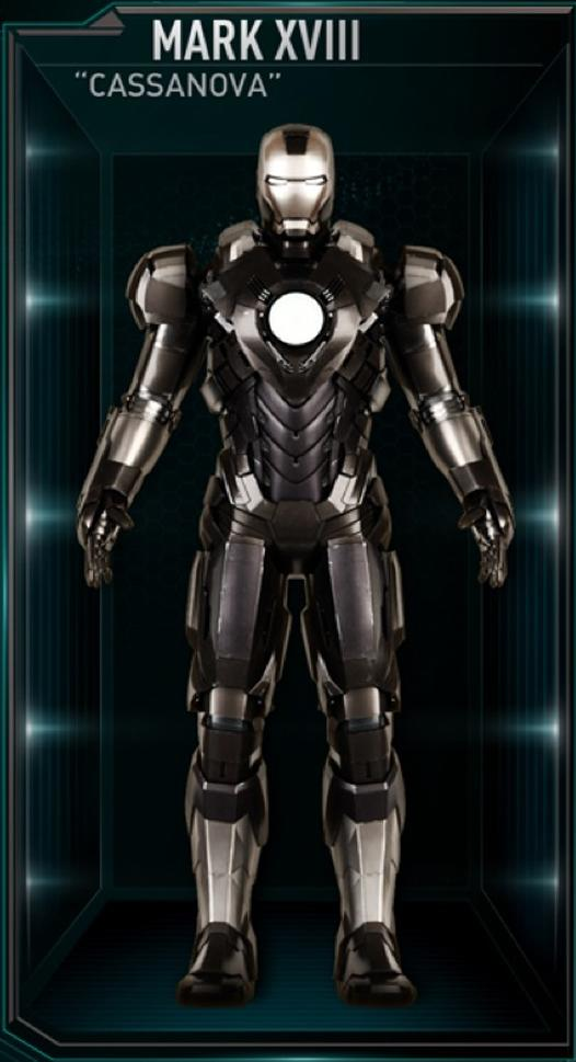 Iron Man Armor MK XVIII (Earth-199999)