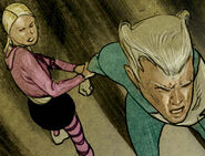 Layla Miller (Earth-616) and Pietro Maximoff (Earth-616) from Silent War Vol 1 3 001