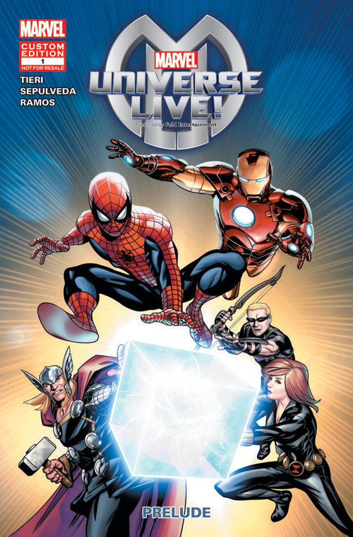 Marvel Universe Live! Prelude Vol 1 1