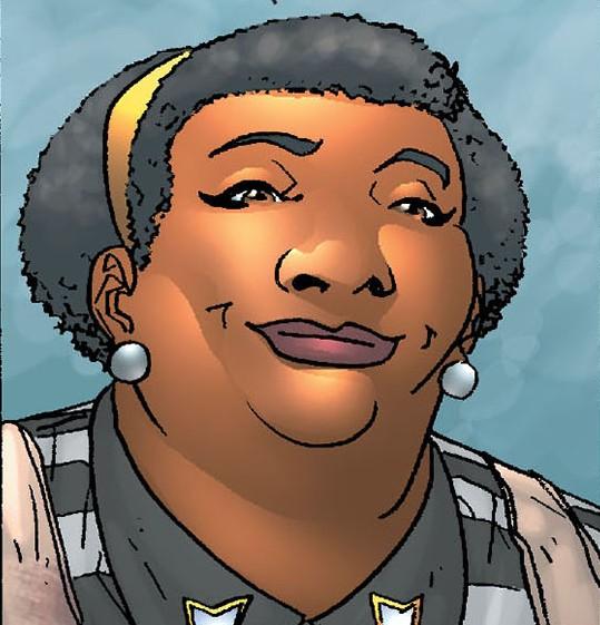 Mona (Waitress) (Earth-616)