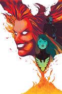 Phoenix Resurrection The Return of Jean Grey Vol 1 2 Martin Variant Textless