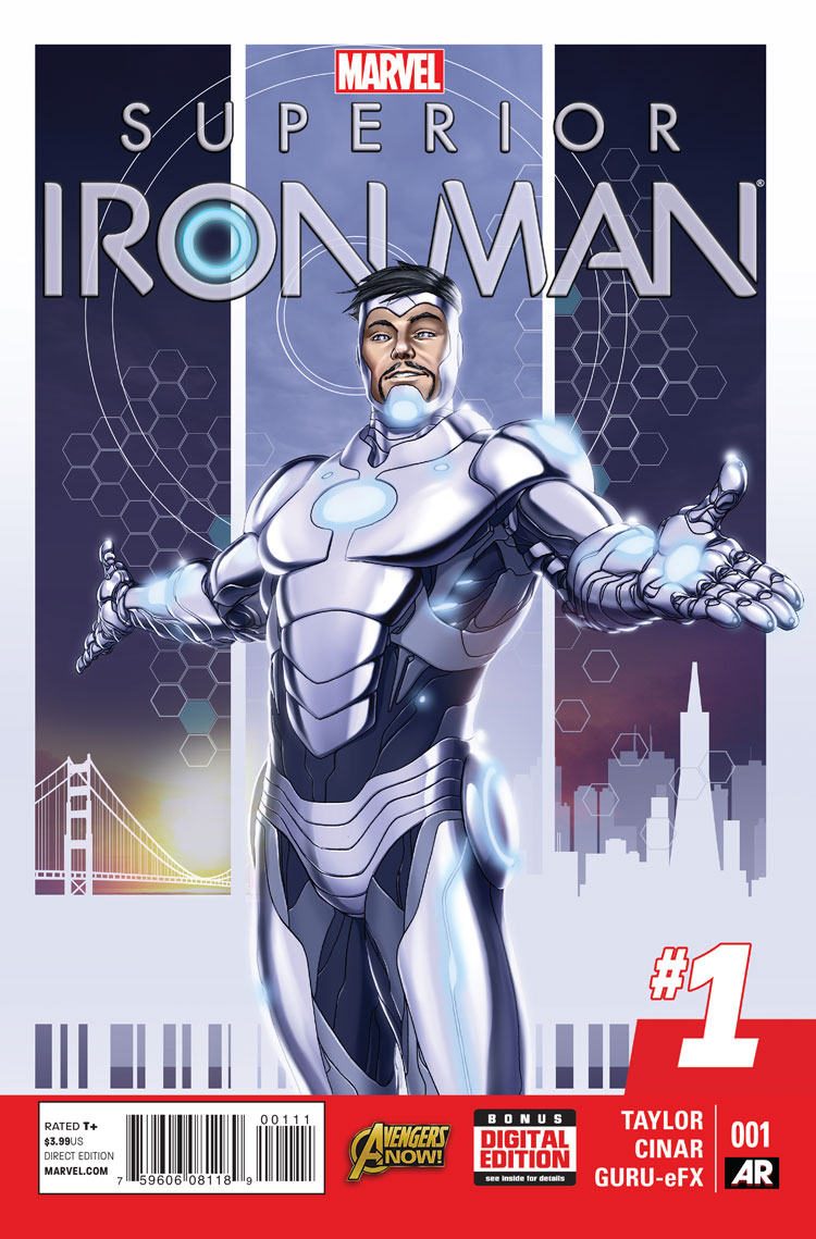 Superior Iron Man Vol 1 1