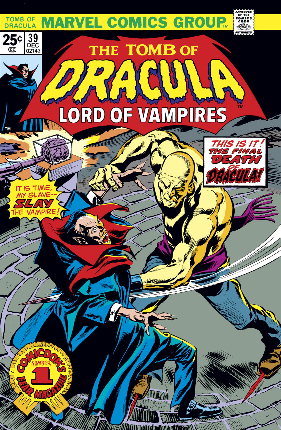 Tomb of Dracula Vol 1 39