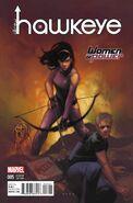 All-New Hawkeye Vol 2 5 Women of Power Variant