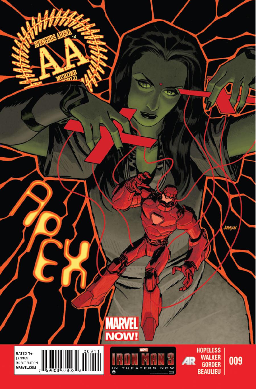 Avengers Arena Vol 1 9