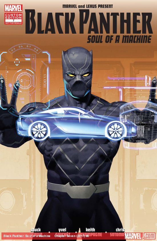 Black Panther: Soul of a Machine Vol 1 7