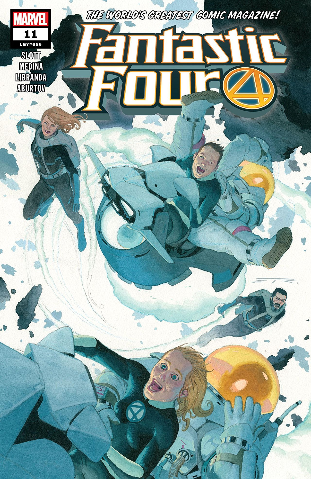 Fantastic Four Vol 6 11