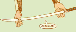Godkiller (Sword) from Secret Warriors Vol 1 10 001.jpg