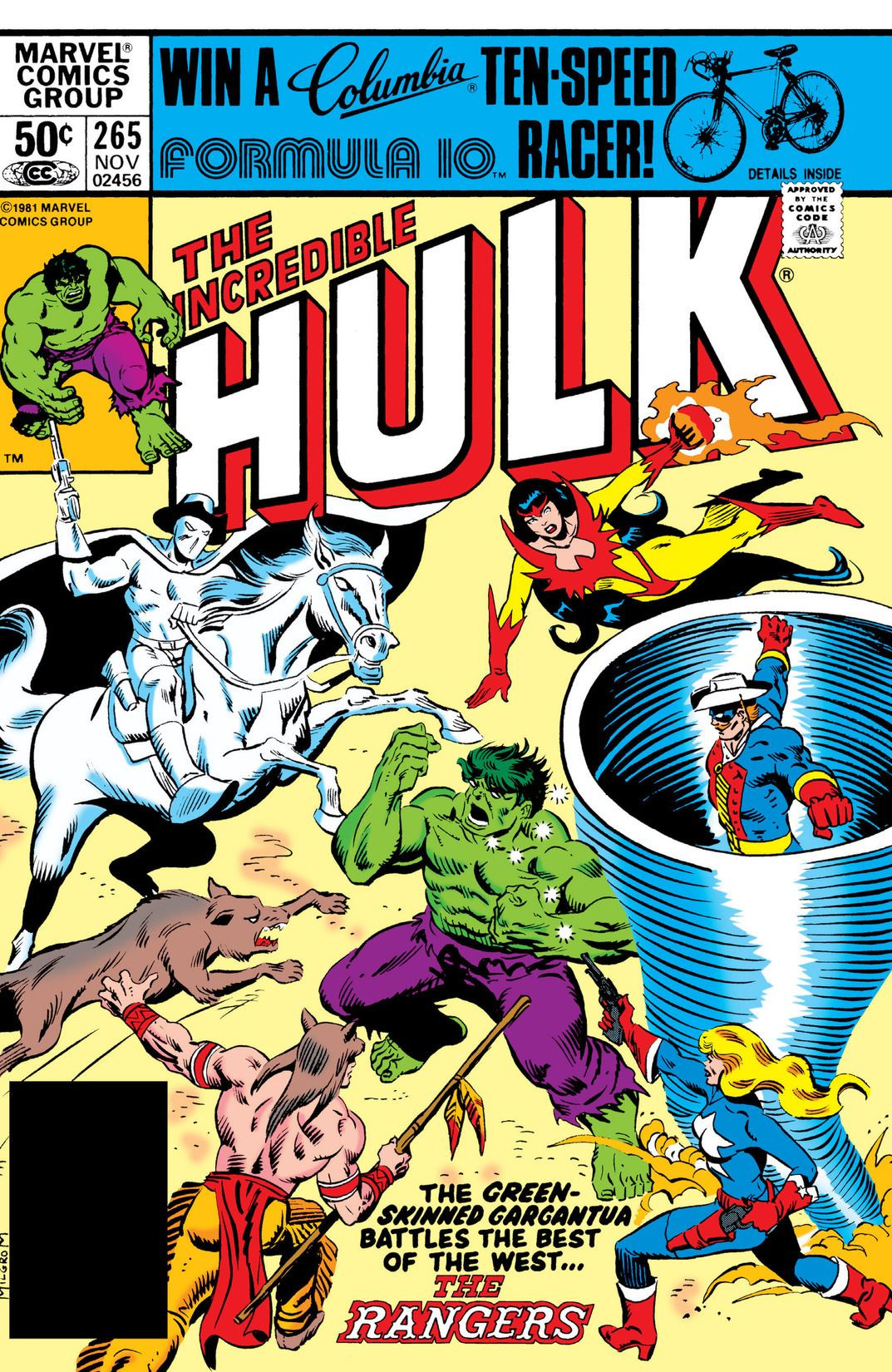 Incredible Hulk Vol 1 265