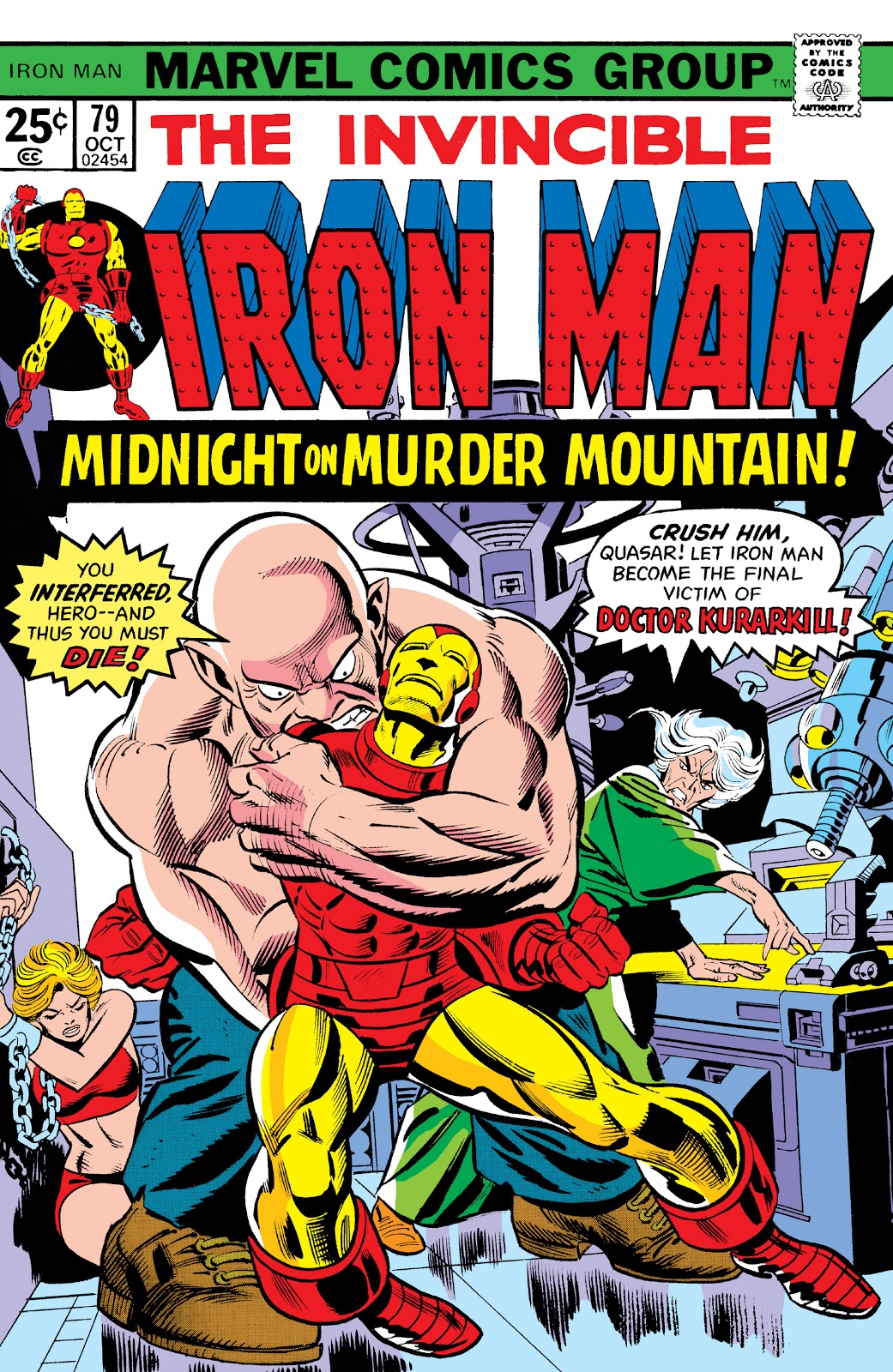Iron Man Vol 1 79
