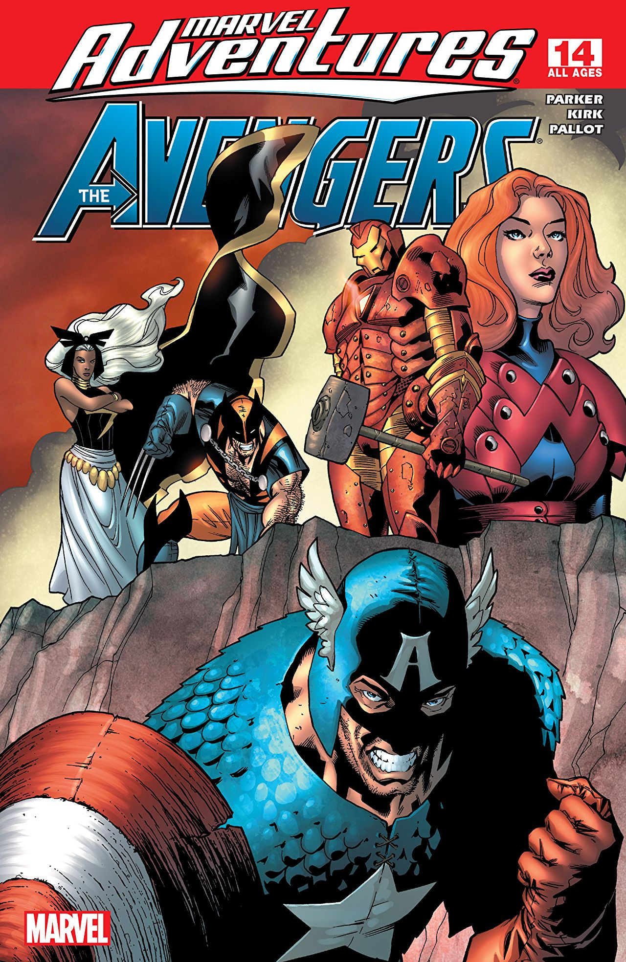 Marvel Adventures: The Avengers Vol 1 14